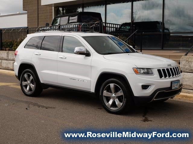 Used 2015 Jeep Grand Cherokee Limited with VIN 1C4RJFBGXFC653136 for sale in Roseville, Minnesota