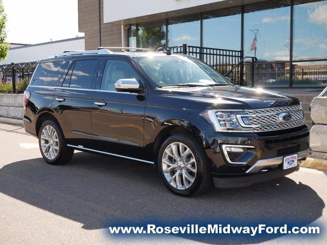 Used 2019 Ford Expedition Platinum with VIN 1FMJU1MT3KEA44966 for sale in Roseville, Minnesota
