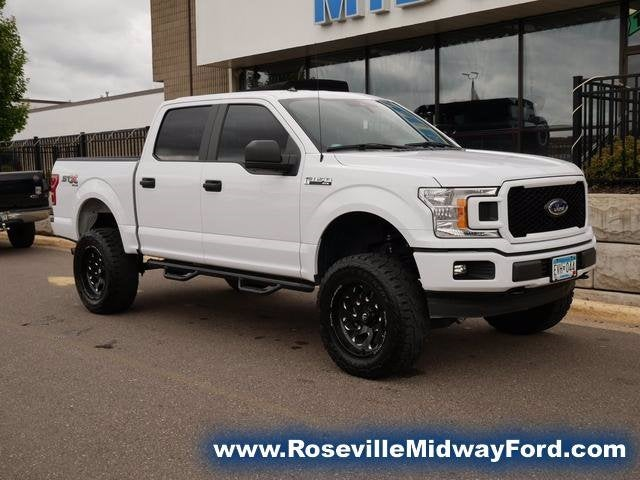 Used 2020 Ford F-150 XL with VIN 1FTEW1E5XLKE86808 for sale in Roseville, Minnesota
