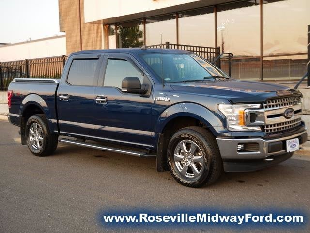 Used 2019 Ford F-150 XLT with VIN 1FTEW1EP0KKC69462 for sale in Roseville, Minnesota