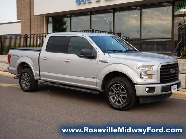 Used 2017 Ford F-150 XLT with VIN 1FTEW1EP4HKC91358 for sale in Roseville, Minnesota