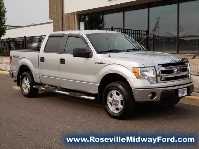 Used 2013 Ford F-150 XLT with VIN 1FTFW1EF0DFC28319 for sale in Roseville, Minnesota