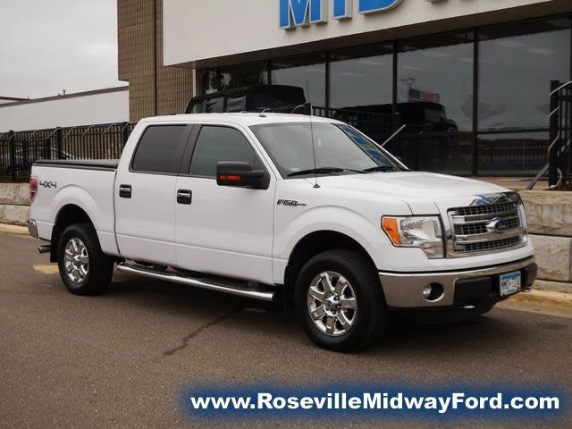 Used 2013 Ford F-150 XLT with VIN 1FTFW1EFXDKF85921 for sale in Roseville, Minnesota