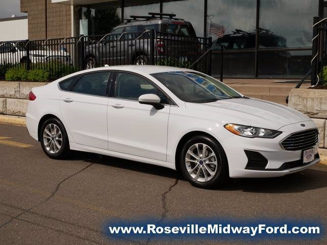 Used 2020 Ford Fusion SE with VIN 3FA6P0HD5LR107892 for sale in Roseville, Minnesota