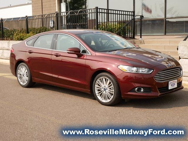 Used 2016 Ford Fusion SE with VIN 3FA6P0HDXGR341905 for sale in Roseville, Minnesota