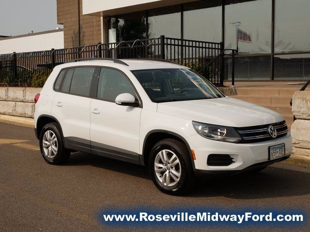 Used 2017 Volkswagen Tiguan S with VIN WVGBV7AX0HK021070 for sale in Roseville, Minnesota