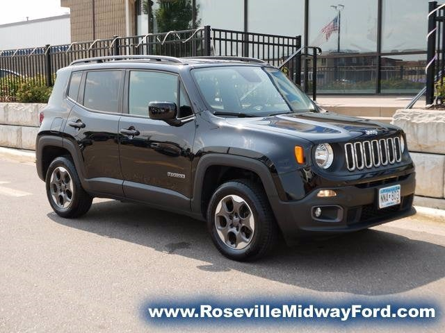 Used 2015 Jeep Renegade Latitude with VIN ZACCJBBH0FPB68569 for sale in Roseville, Minnesota